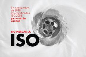 No pierdas la ISO